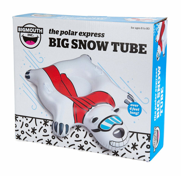 Big Mouth - Giant Polar Bear Inflatable Snow Tube