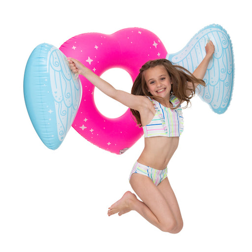 Big Mouth Heart Wings Kiddo Float