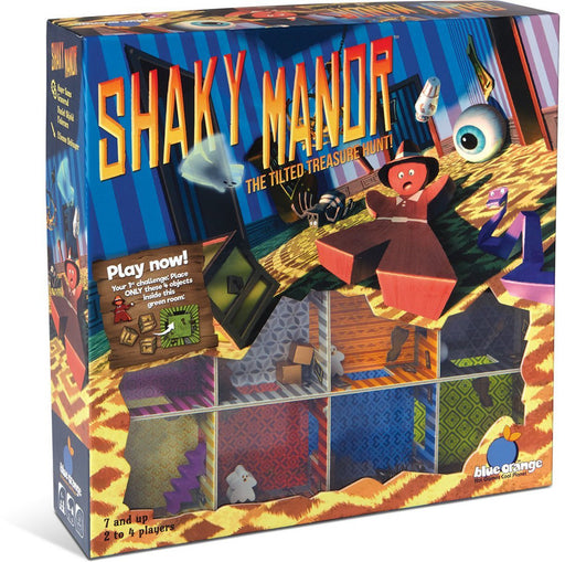 Blue Orange Shaky Manor Game