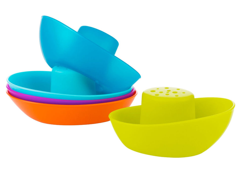 Boon Fleet Stacking Boats Bath Toy