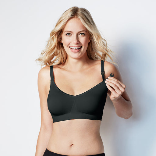Bravado! Body Silk Seamless Nursing Bra Black