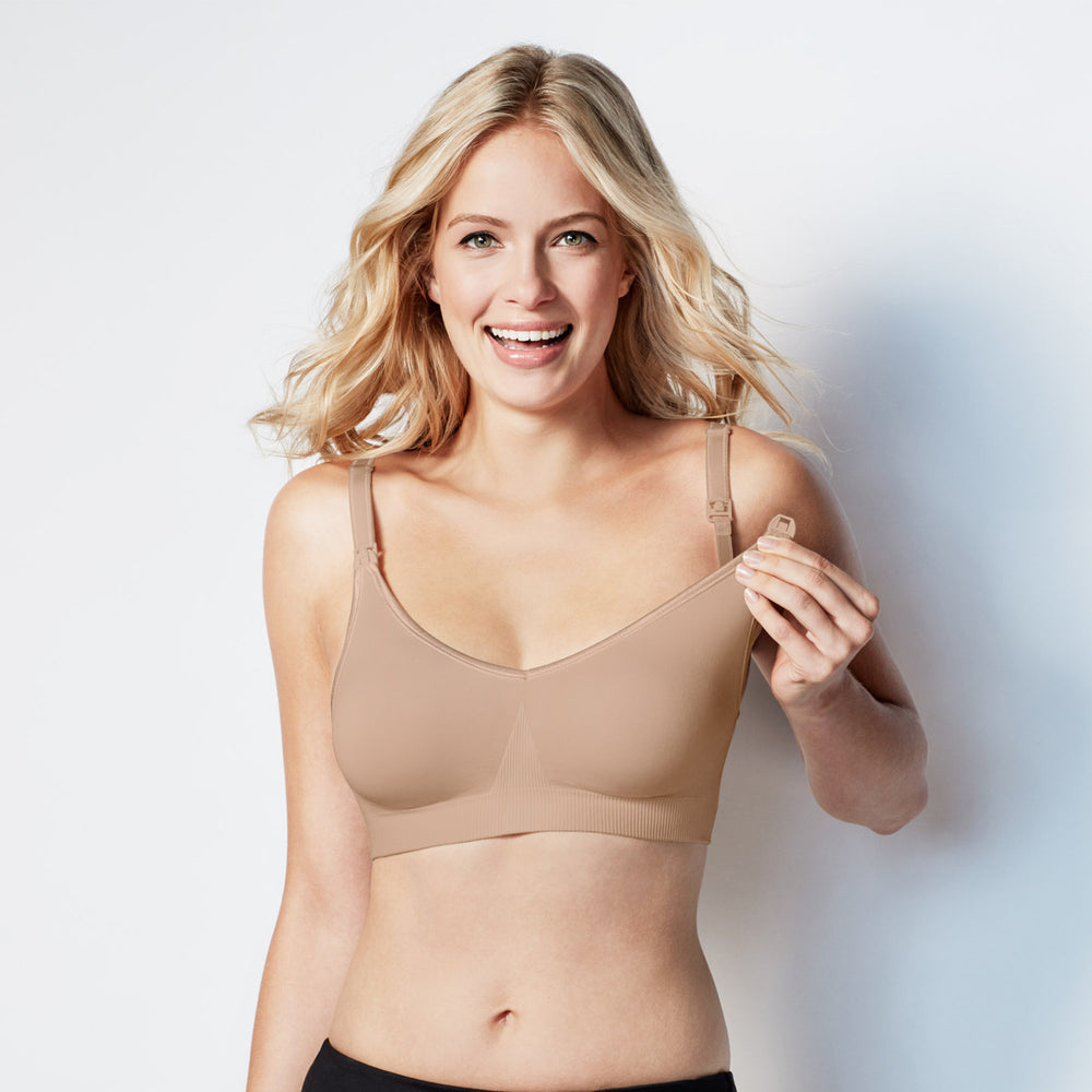 Bravado! Body Silk Seamless Nursing Bra Butterscotch
