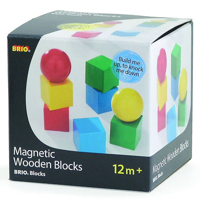 BRIO Magnetic Wooden Building Blocks