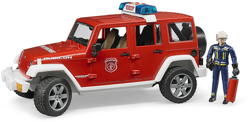 Bruder Jeep Fire Car with Fireman