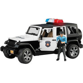 Bruder - Jeep Police Car With Policeman