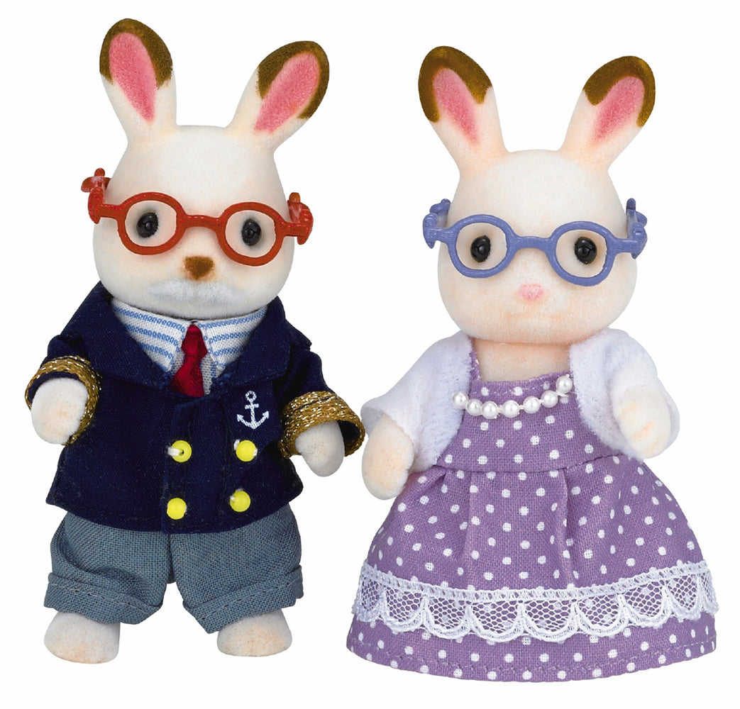 Calico Critters - Rabbit Grandparents