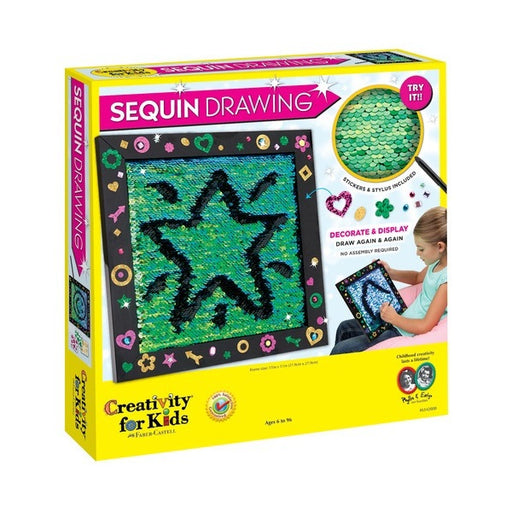 Creativity for Kids - Sequin Drawing