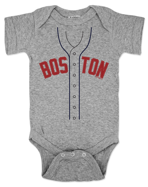 Chowdaheadz Boston Baseball Rookie Onezie