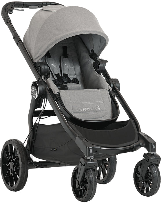 City Select Lux Double Stroller - Slate