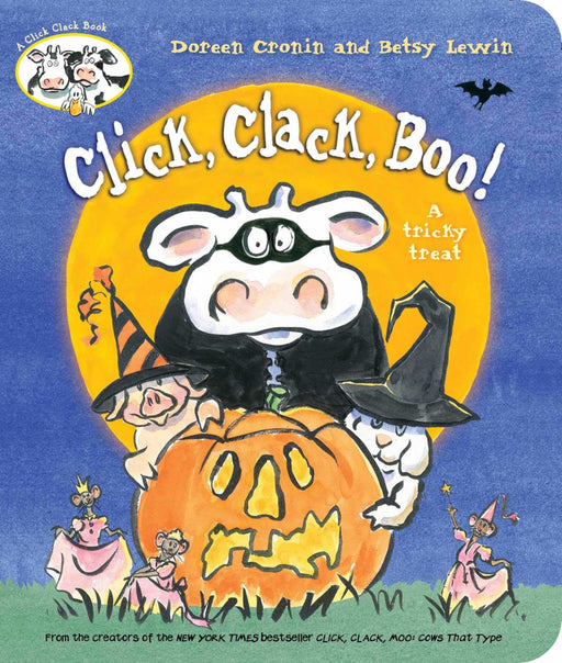 Click, Clack, Boo!: A Tricky Treat Board Book