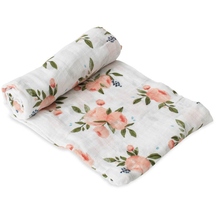 Little Unicorn Cotton Muslin Swaddle Rose