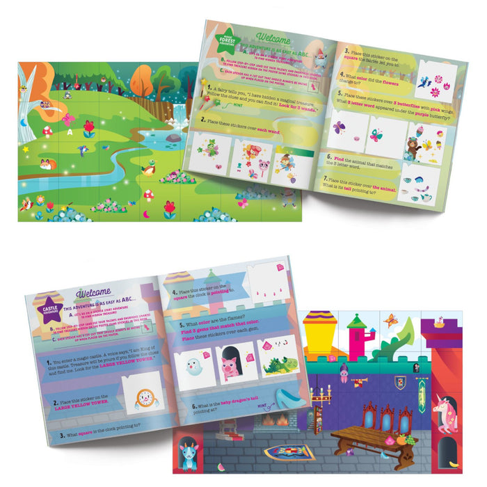 Craft-Tastic Junior - Treasure Sticker Puzzles