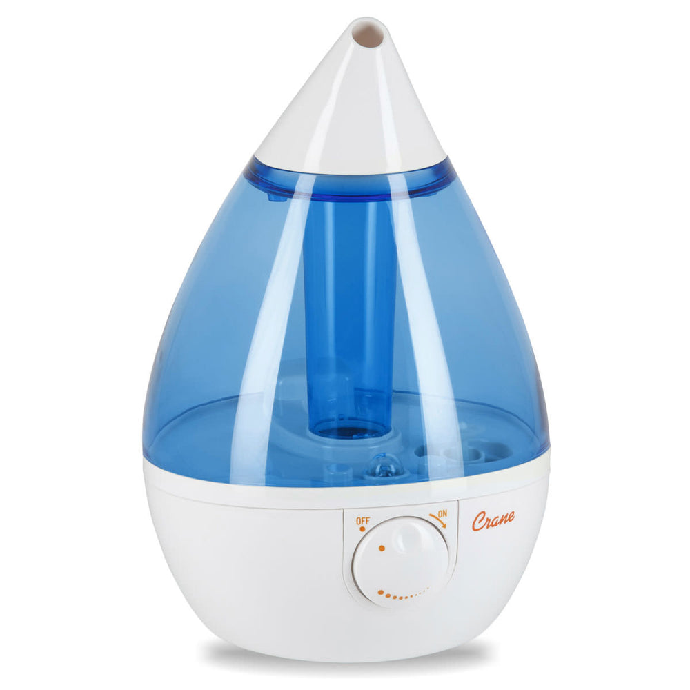 Blue Drop Shape Cool Mist Humidifier