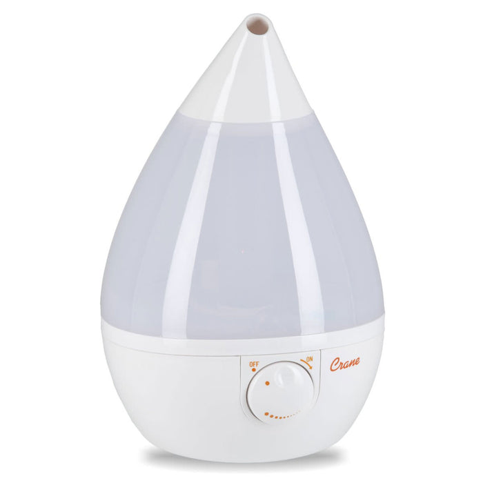 White Drop Shape Cool Mist Humidifier
