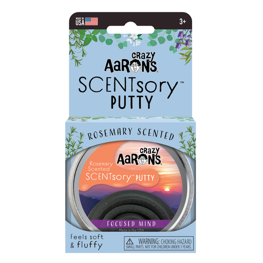 Crazy Aaron's Scentsory Mindfulness Putty Focused Mind