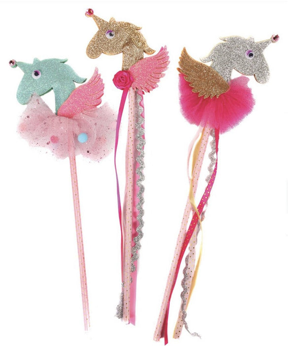 Unicorn 3D Wand - 1 Piece Ships Assorted