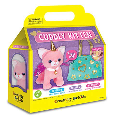 Creativity for Kids - Cuddly Kitten