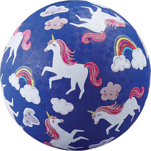 Crocodile Creek Playground Ball 7-Inch - Unicorn