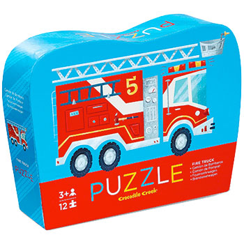 Crocodile Creek Fire Truck Mini Puzzle