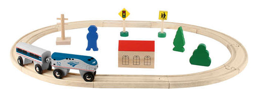 Amtrak Wooden Railway - 20 Piece Set