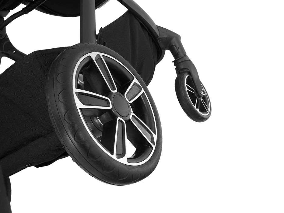 Nuna Demi Grow Stroller Wheels Caviar