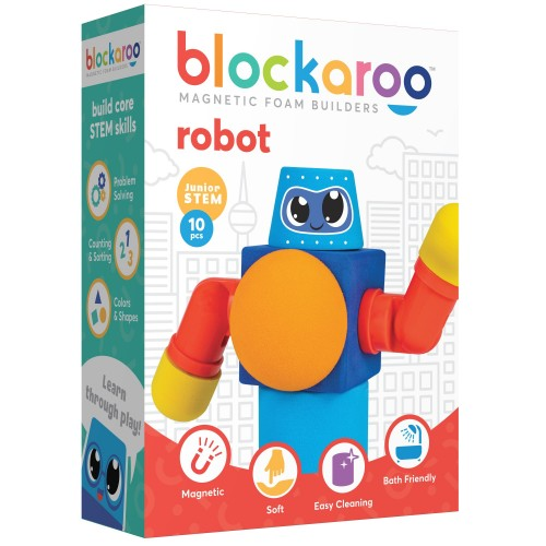 Discover with Dr Cool - Blockaroo Robot