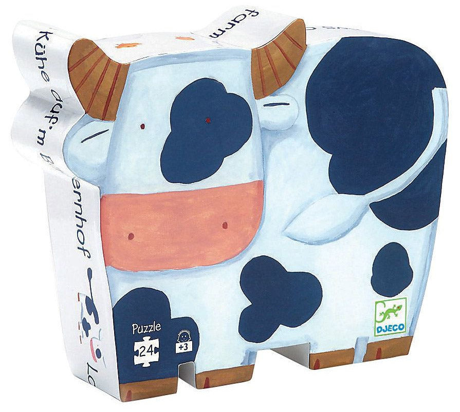 Djeco Silhouette Puzzles - The Cows on the Farm