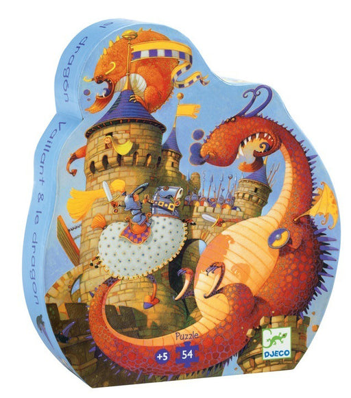 Djeco Vaillant & the Dragon 54-Piece Puzzle