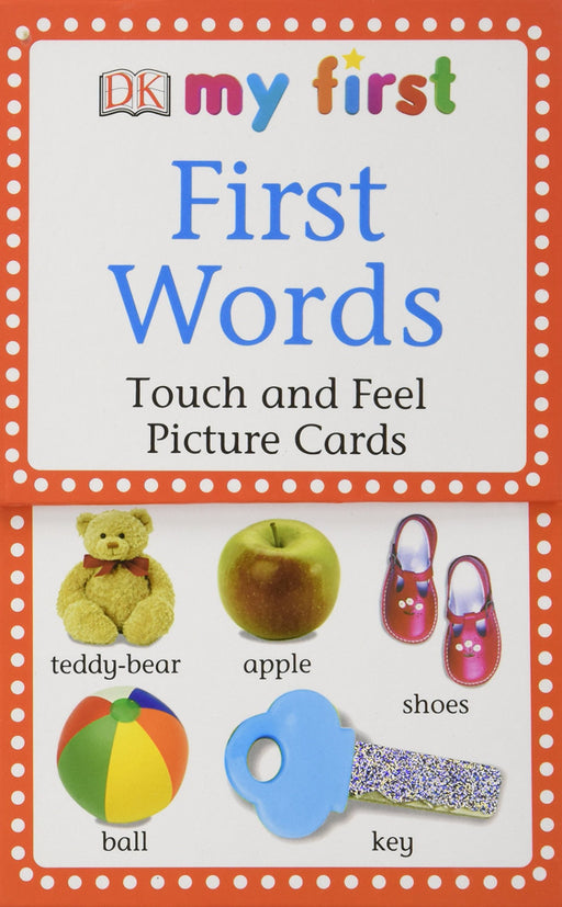 My First Words Touch and Feel Cards