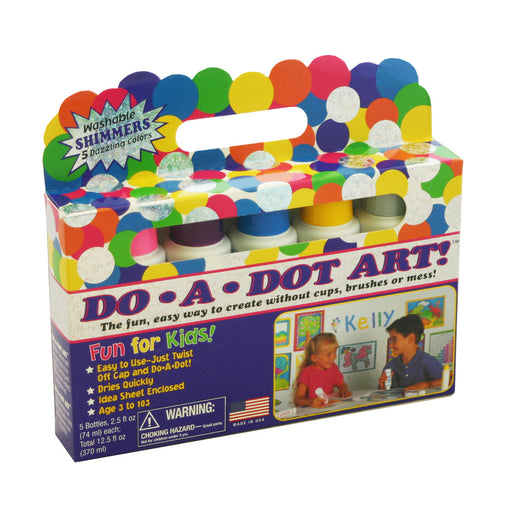 Do-A-Dot Art 5 Pack Shimmers