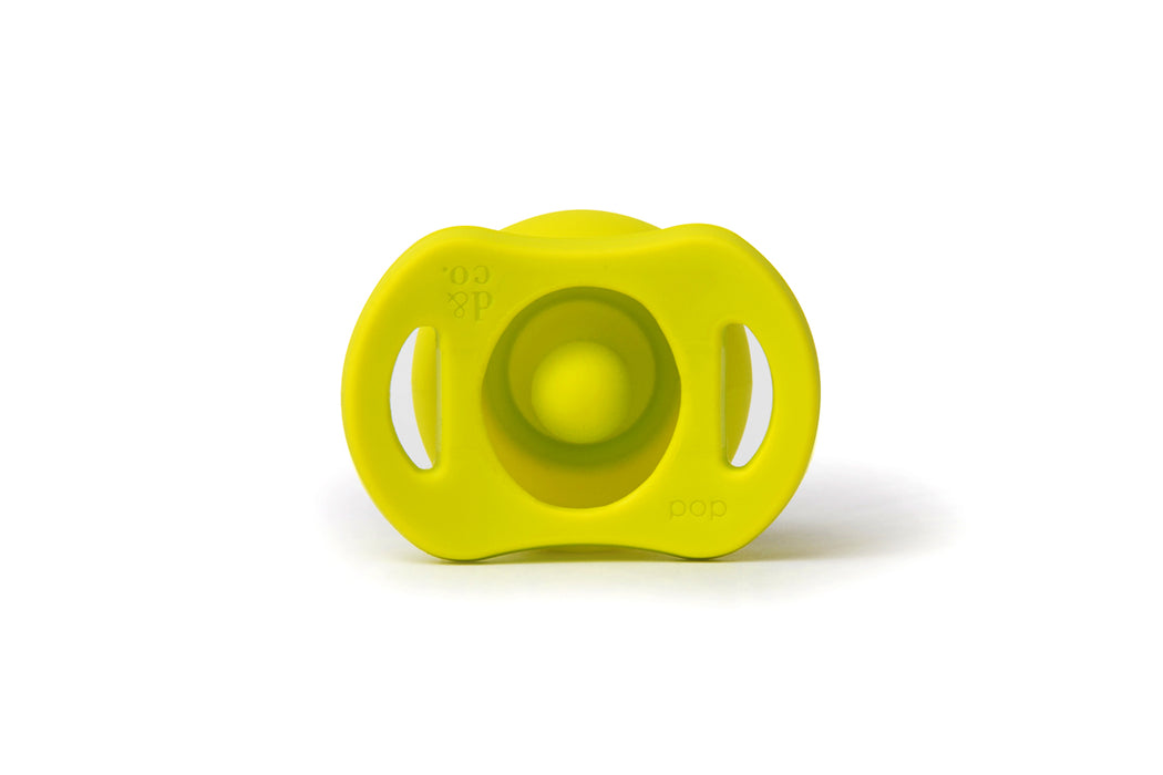 Doddle Pop Pacifier - Pick Up Lime