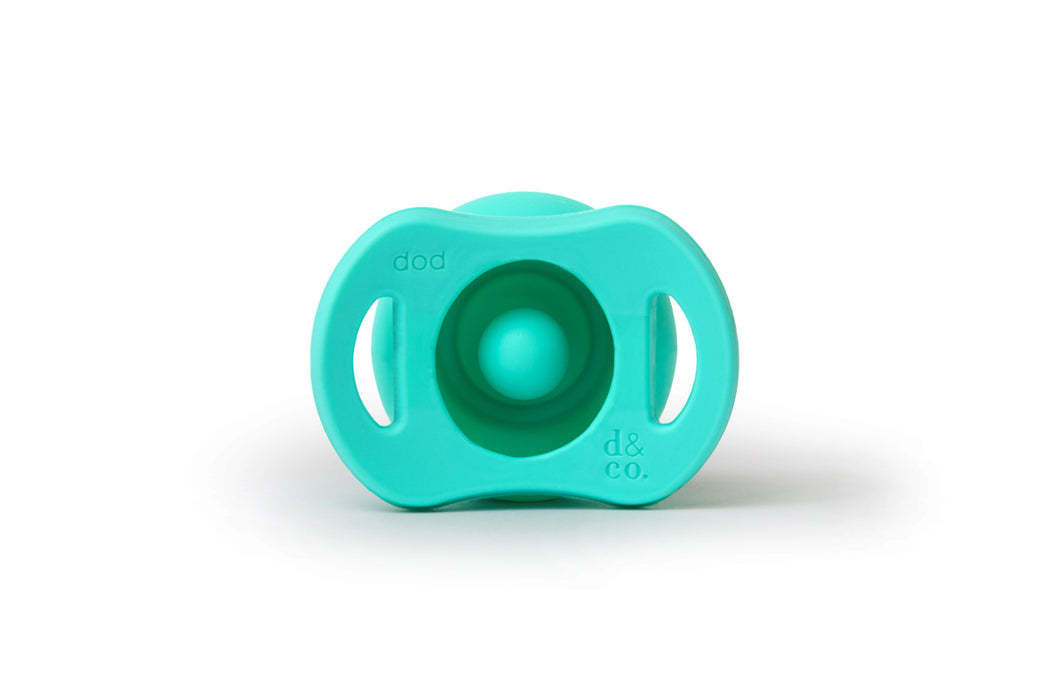 Doddle Pop Pacifier - In Teal Life