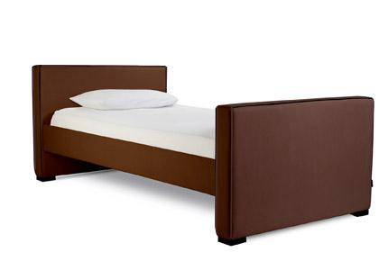 Dorma Twin - Low Headboard/High Footboard - Lth Br