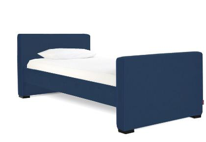 Dorma Twin - Low Headboard/High Footboard - Midnig