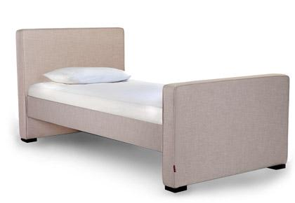 Monte Design Dorma Twin Bed with High Headboard