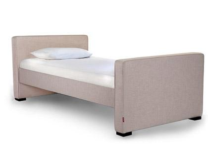 Dorma Twin - Low Headboard/High Footboard - Sand