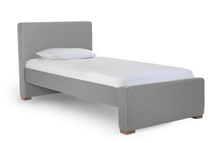 Dorma Twin High Headboard - Low Footboard - Wo LtG