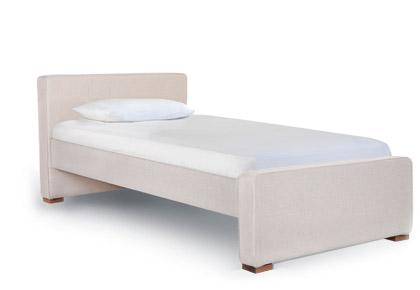 Monte Design Dorma Twin Bed with Low Headboard