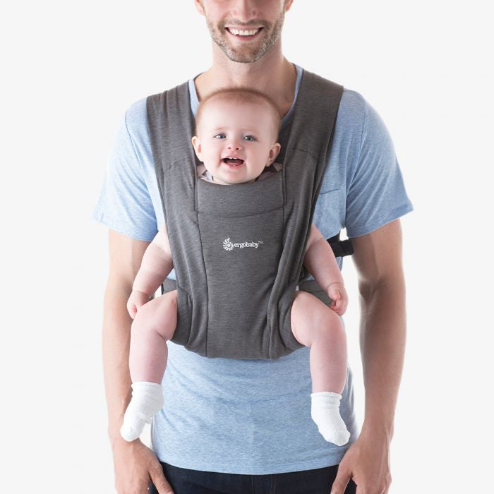 ErgoBaby - Embrace Baby Carrier - Heather Grey