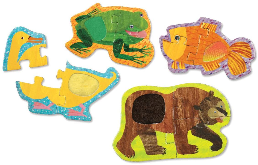 Mudpuppy World of Eric Carle - My First Touch and Feel Puzzles