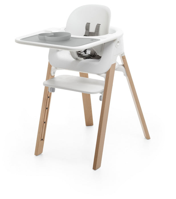 EZPZ Placemat for Stokke Steps High Chair - Grey