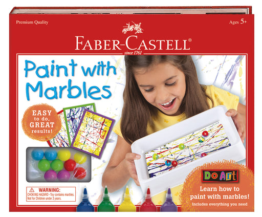 Faber-Castell - Do Art Paint With Marbles