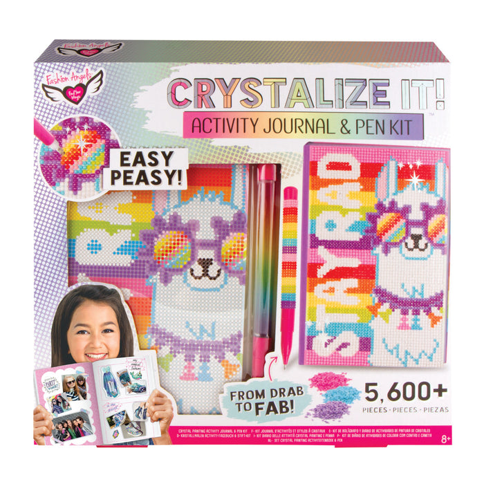 Crystalize It! Activity Journal and Pen