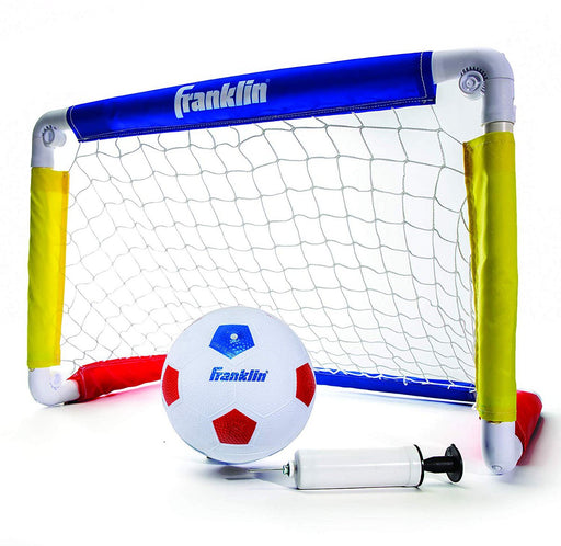 Franklin Sports Soccer Goal with Ball + Pump