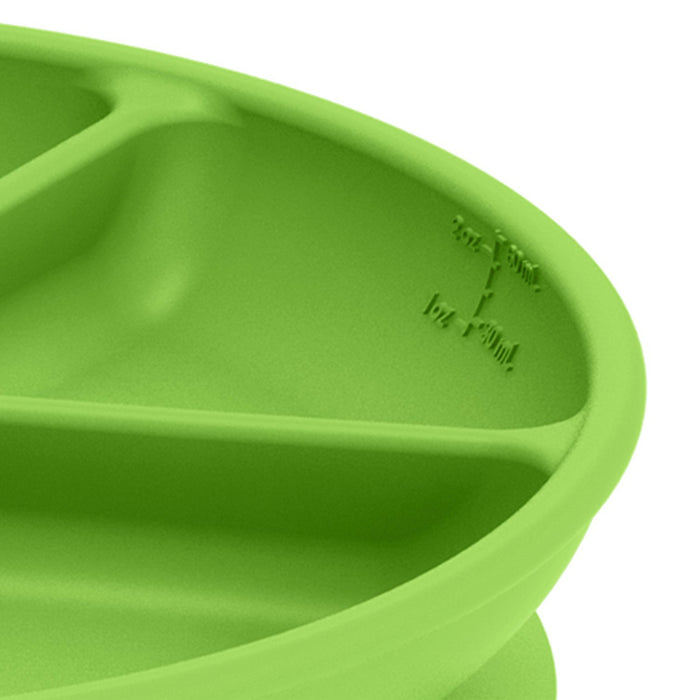 Green Sprouts Learning Plate - Green