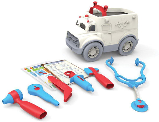 Green Toys Ambulance Doctor's Kit