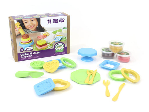 Green Toys Dough Set - Cake Maker