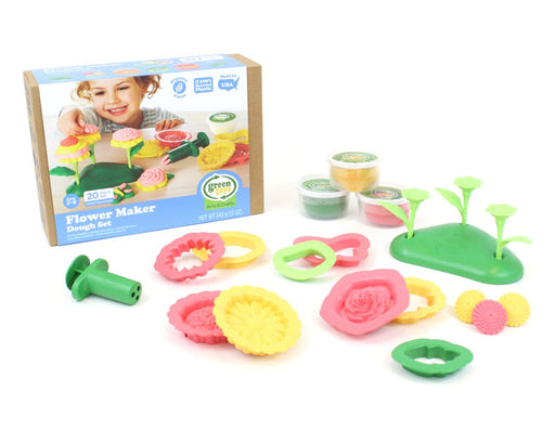 Green Toys Dough Set - Flower Maker