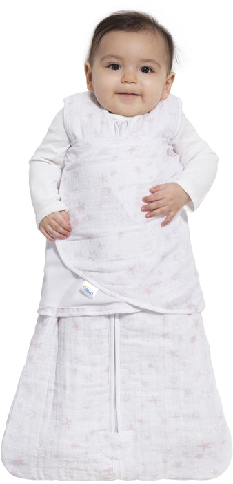 Halo SleepSack Swaddle Muslin - Pink Constellation