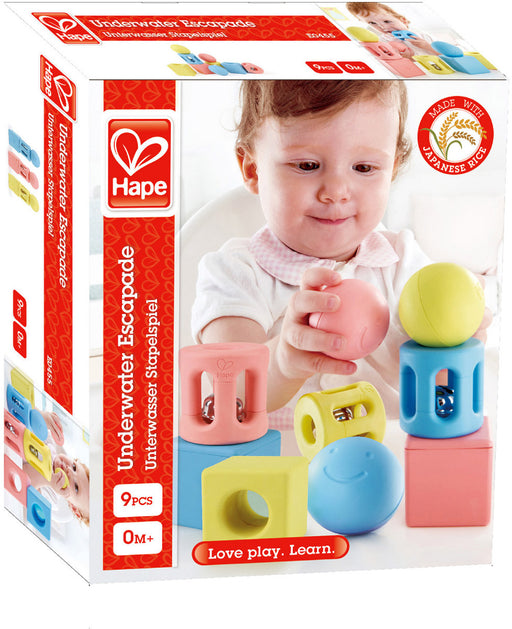 Hape Geometric Rattle Trio